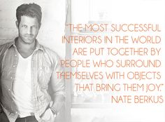 Words Wednesdays: Nate Berkus