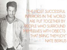 Words Wednesdays: Nate Berkus