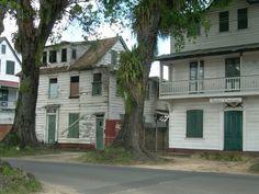 Woningen in de Nassylaan Paramaribo