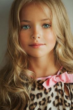 VOGUE ENFANTS: Child model Kristina Pimenova (Russia)