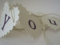 Choose your phrase on this handmade card crafted bunting http://perfectdaywishes.co.uk/Bunting/