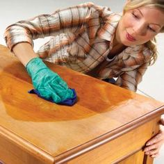 Wood refinishing tutorial