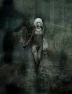 """Pris"" --  painting by artist Christopher Shy."