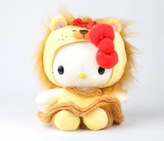 "HK |❣| HELLO KITTY 8"" Wizard of Oz Plush - Lion"