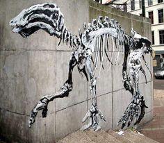 Street Art Brussels - Bonom by _Kriebel