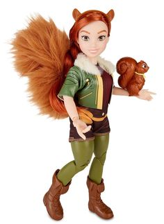 Squirrel Girl Doll, ages 6 and up