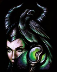 maleficent art | Maleficent by BabyDollB on deviantART