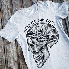 SKULL t-shirt unisex t shirt Skull tattoo print Goonies shirt