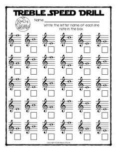 Staff Wars Music Worksheets No-Prep, Treble, Alto, Bass … – Musical instruments Music Lessons For Kids, Music Lesson Plans, Piano Lessons, Piano Classes, Music Theory Worksheets, Music School, Music Activities, Physical Activities, Piano Teaching