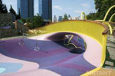 Инновационная детская площадка в Стамбуле