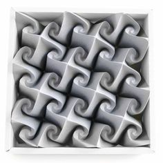 Svastica-B #origami #tessellation #corrugation