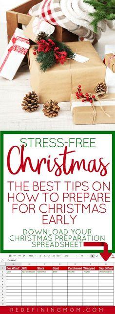 Christmas Budget Spreadsheet | Christmas budget, Financial goals and ...