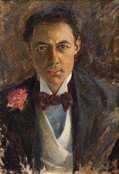 Retrato del Sr. Juan Carlos Muñoz, c.1899 - Óleo sobre tela - 50 x 61 cm - Museo Nacional de Artes  Visuales del Uruguay      Retrato de...