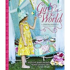 Girls World sewing book