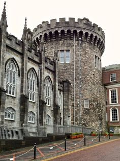 Dublin Castle is a major Irish government complex, conference centre, and tourist attraction located off Dame Street in Dublin, Republic of Ireland. Medieval Fortress, Medieval Castle, Famous Structures, Dublin Castle, Republic Of Ireland, Ballrooms, Emerald Isle, Stand Tall, Northern Ireland