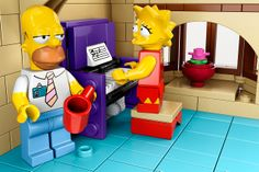 Image of Official 'The Simpsons' LEGO Set