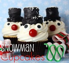 best christmas cupcakes ideas pics photos 18 Christmas Cupcake Ideas (Photo Gallery)
