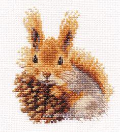Набор для вышивки крестом Алиса Белочка 0-173