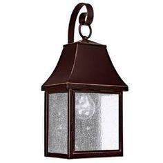 "Capital Lighting C9061NB ""Collins Hill"" Outdoor Entrance Wall Light $138 Shop.Ferguson.com!"