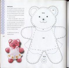 #pattern #template bear