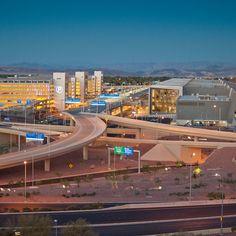 Las Vegas Airport Guide - Sunset