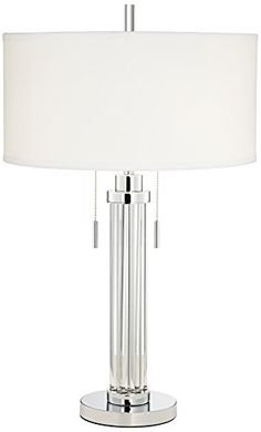Home Décor Table Lamps  Possini Euro Cadence Glass Column Table Lamp ** Click the VISIT button to view the details
