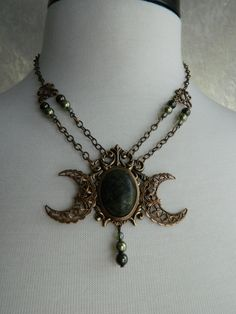Triple goddess triquetra necklace pagan wiccan witch maiden triple goddess triquetra necklace pagan wiccan witch maiden mother crone goddesses pinterest mothers triquetra and goddesses aloadofball Image collections