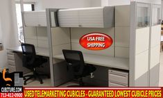 Refurbished Telemarketing Cubicles By Cubiture The Leading Houston Manufacturer Of Office Cubicles, Workstations, Chairs, Desks, Accessories & Installation