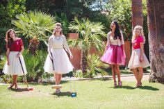So much fun! This bridal shower par-tea is the sweetest little styled shoot ever! Phoenix Bride and Groom, Arizona wedding magazine, Eyes 2 See Photography and Films, Royal Palms Resort and Spa, Your Jubilee Weddings and Events, Prim Unique Rentals, Tea Crockery,Teaspressa, Růže Cake House, Juju's Tutus, Nicole Fisk,Josie Saenz #bridalshowerideas #teaparty #azwedding #arizonawedding #phoenix #bridal #partea #pink #tutus #cake #tea