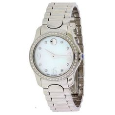 Movado-Moda-Stainless-Steel-Diamond-Ladies-Watch-0606706  Item condition:New with tags Price:US $1,316.49
