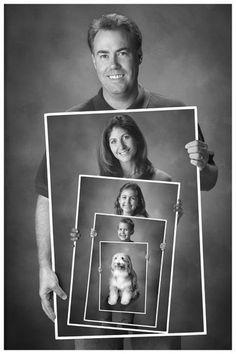 The idea for a family photo