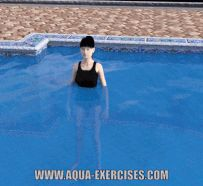 Squat Routine in the Pool Pool Workout, Squat Workout, Squat Routine, Water Aerobics, 10 Minute Workout, Jump Squats, Upper Body, Body Weight, Jogging