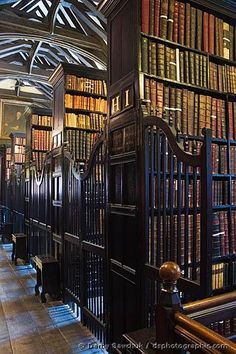 Chetham Library, Manchester, England, is the oldest Library in the English speaking world founded in 1653 by Humphrey Chetham to 'Cure poverty by curing ignorance'