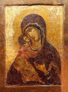 20 Madonna, Byzantine Icons, Byzantine Art, Early Christian, Christian Art, Religious Icons, Religious Art, Russian Icons, Religious Paintings
