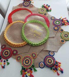 1 million+ Stunning Free Images to Use Anywhere Crochet Fabric, Crochet Motifs, Crochet Mandala, Crochet Home, Crochet Doilies, Crochet Flowers, Knit Crochet, Burlap Crafts, Diy Crafts