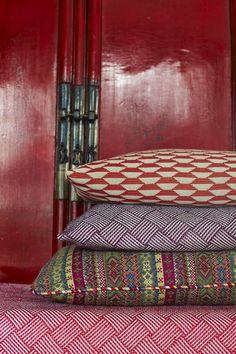 Funky Friday blog: Knalkleuren & powerprints; mode voor muur en meubel