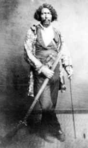 Beckwourth, James - James Pierson Beckwourth, Mountain man - Beckwourth was born in 1798 in Fredericksburg, Virginia to an enslaved woman of African descent and Jennings Beckwourth, a white man. They moved to St. Charles, Missouri in 1806 and his father sent him to school in St. Louis from 1810 to 1814. As a youth he was apprenticed to a blacksmith to learn how to use the tools of that trade.