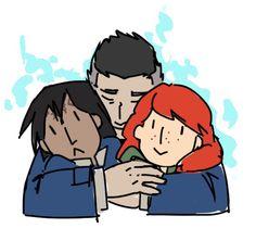 Glowing Family (Dalinar, Kaladin, Shallan)