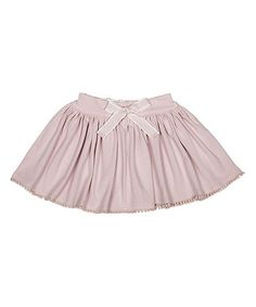 Look at this #zulilyfind! Pink Bow Circle Skirt - Infant by Nanny Pickle #zulilyfinds