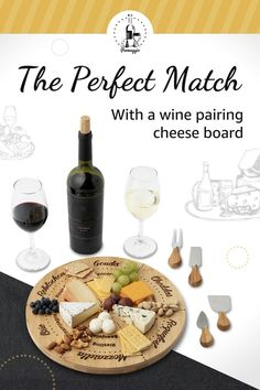 Wine Cheese Pairing, Food Pairing, Cheese Pairings, Recipe Organization, Craft Organization, Kitchen Tools, Kitchen Gadgets, Wood Boards, Wine Food