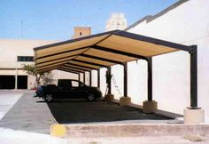 Parking Roof Shade — Buy Parking Roof Shade, Price , Photo Parking Roof Shade, from Bhagwati Industries, Sole Proprietorship. Car Canopies on Allbiz Surat India Home Roof Design, Car Porch Design, Facade Design, Fence Design, Single Floor House Design, House Front Design, Cool House Designs, Rooftop Terrace Design, Terrace Decor