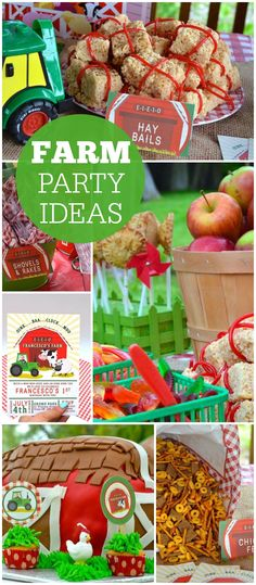 Birthday Birthday Barnyard Bash is part of Friendly Farm St Birthday Party Supplies Party City - Farm Birthday Barnyard Bash at Catch My Party 1st Birthday Themes, Animal Birthday, Baby First Birthday, 1st Boy Birthday, First Birthday Parties, First Birthdays, Birthday Ideas, Summer Birthday, Party Summer