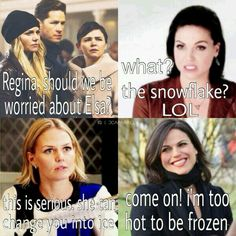 Hahaha I want her to say that in season four.