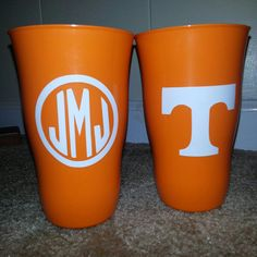 Tennessee Vols Cup  Custom Personalization by SouthernLeeDesigns, $4.99