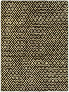 Bohemian Collection Area Rug in Black and Gold design by Safavieh
