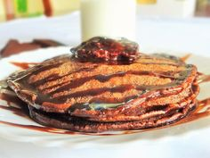 Easy and Perfect Chocolate Pancake | Pancake Recipe | Kids Breakfast/Sna...