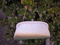 Vintage Gold Fabric Clutch by PopsCandy on Etsy, $16.00