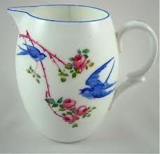 Shelley Bluebird Milk Jug