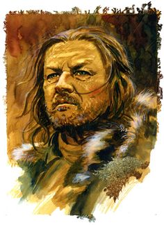 Game of Thrones: Ned Comic Art