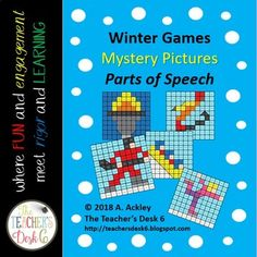 There's no mystery about it! One of the most fun and engaging ways for students to practice identifying parts of speech is by coloring a mystery picture! This set of mystery pictures adds an additional element of fun in that students can celebrate the Winter